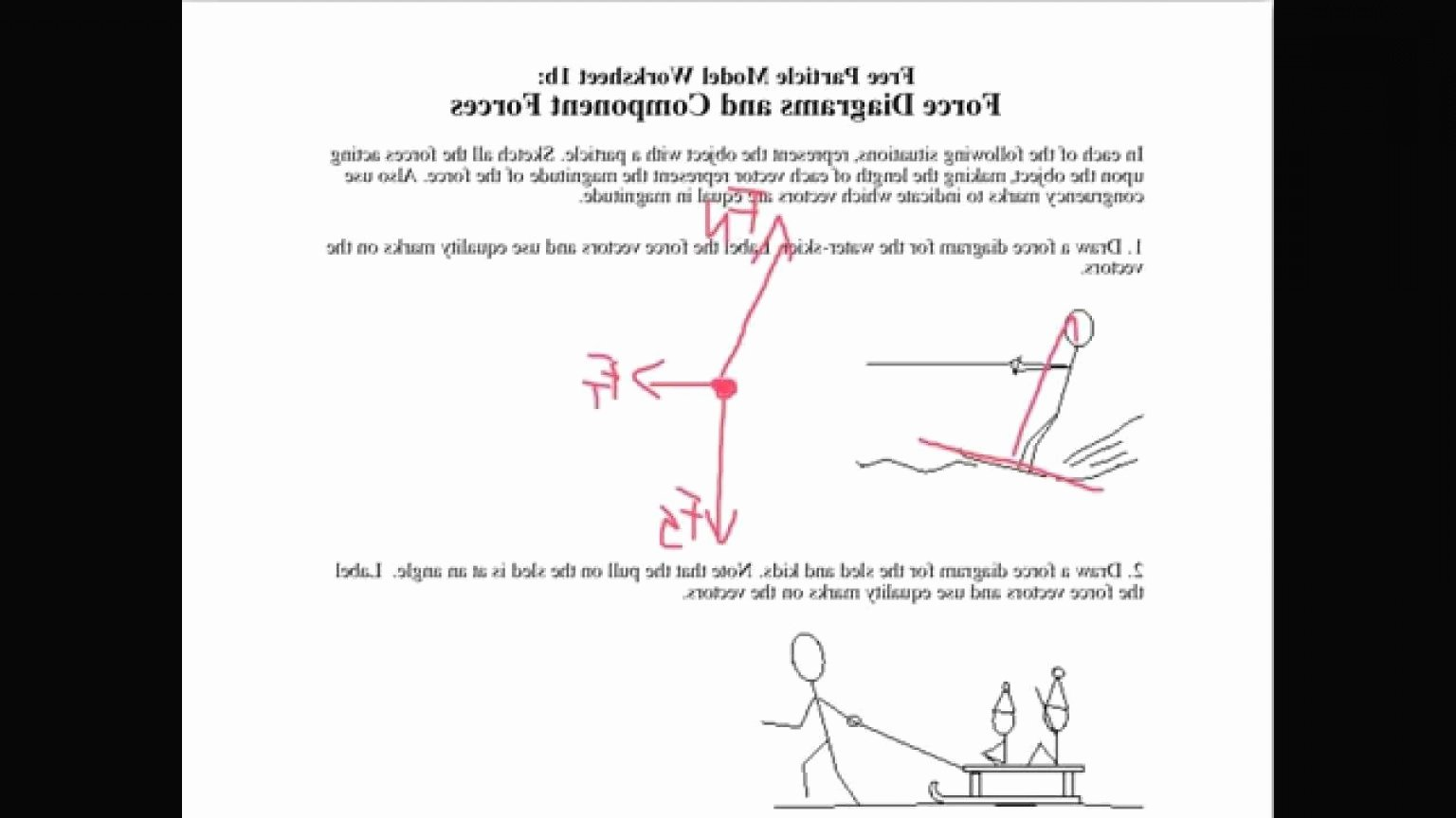 Free Body Diagram Worksheet Answers Best Of Resultant Vectors Worksheets Answers