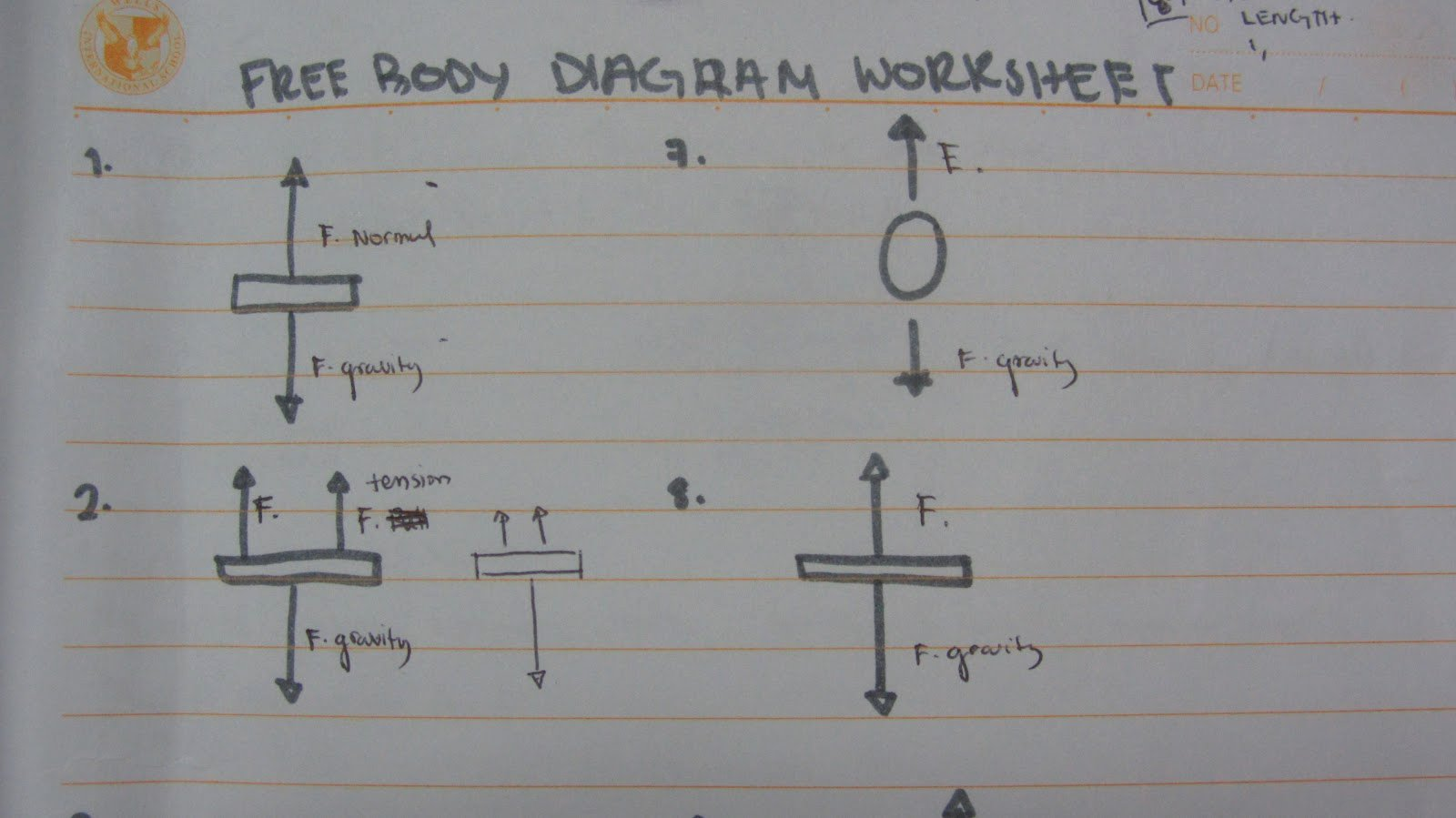 Free Body Diagram Worksheet Answers Elegant Amira S School Blog Free Body Diagram Worksheet
