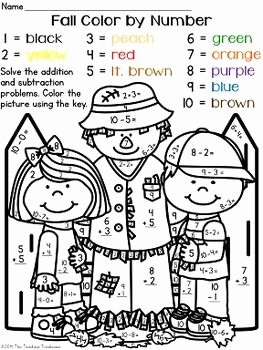 Free Fall Problems Worksheet Beautiful Colors Student and Number Worksheets On Pinterest