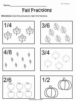 Free Fall Worksheet Answers Awesome Free Fall Fractions Worksheet Enjoy This and Other