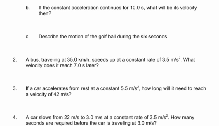 Free Fall Worksheet Answers New Modification Template Of Acceleration and Free Fall