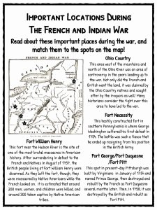 French and Indian War Worksheet Awesome French & Indian War Facts & Worksheets for Kids Seven