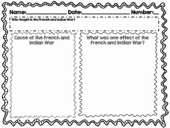 French and Indian War Worksheet Elegant French and Indian War Worksheet the Best Worksheets Image
