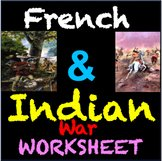 French and Indian War Worksheet Luxury 21st Century social Stu S Resources Teaching Resources