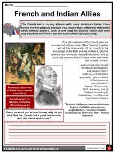 French and Indian War Worksheet Luxury French & Indian War Facts & Worksheets for Kids Seven