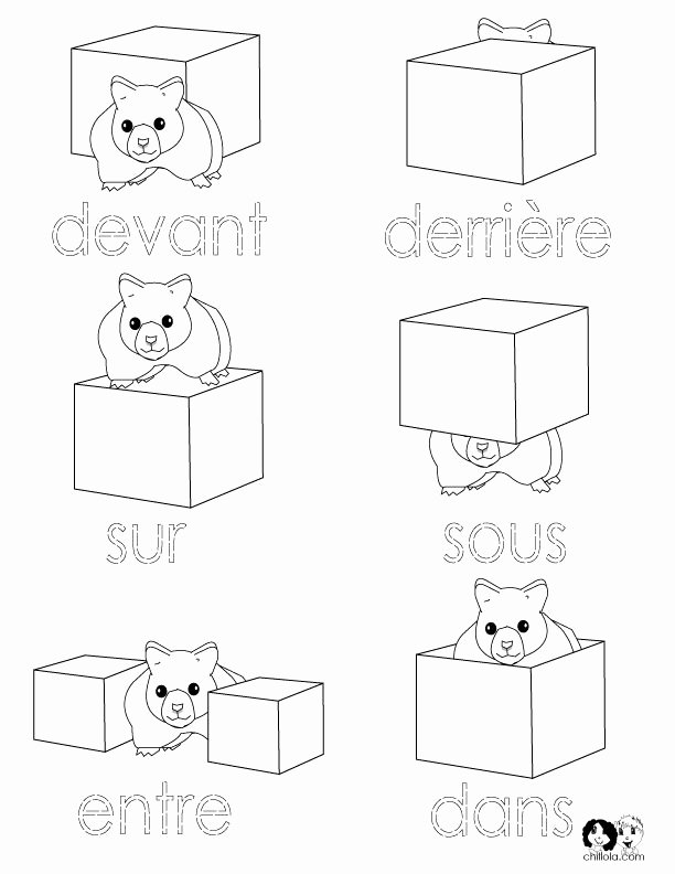 French Worksheet for Kids Beautiful 143 Best French Worksheets for Children Français