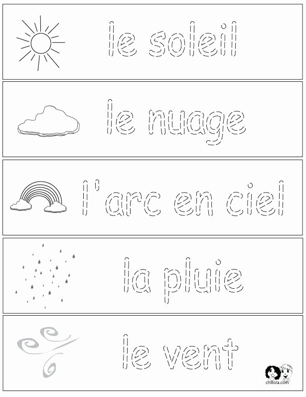 French Worksheet for Kids Beautiful 143 Best Images About French Worksheets for Children