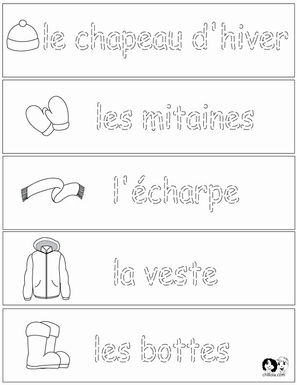 French Worksheet for Kids Elegant 143 Best Images About French Worksheets for Children