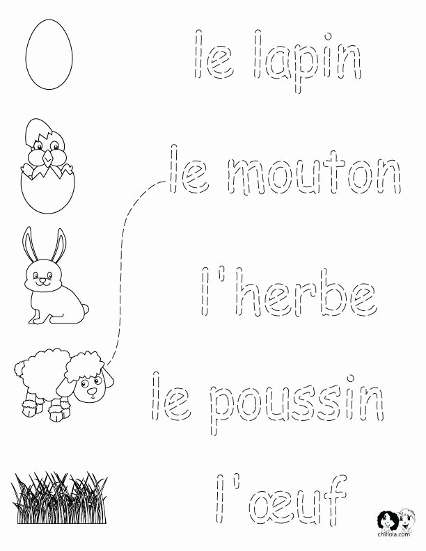 French Worksheet for Kids Lovely 593 Best Images About French Printables Worksheets On