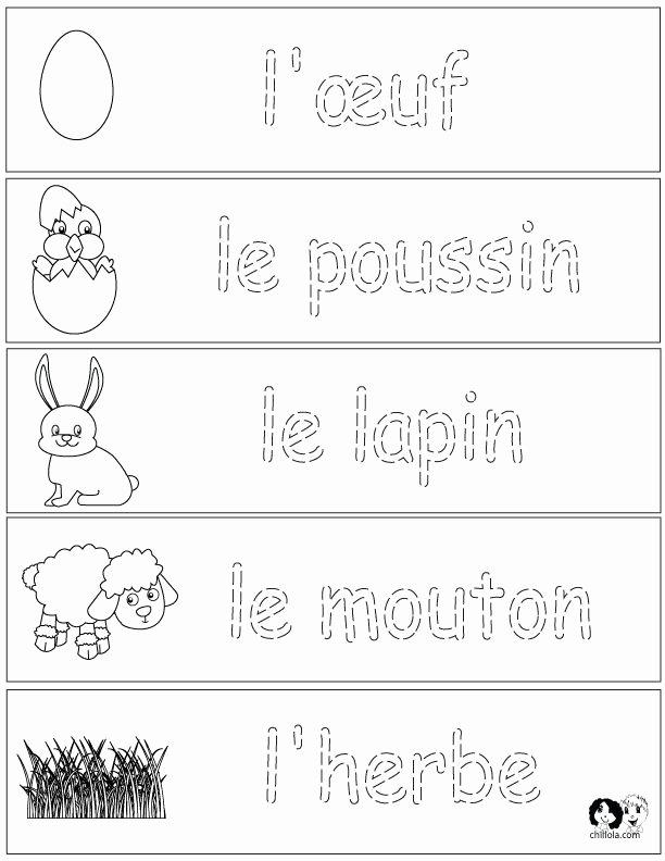 French Worksheet for Kids New 143 Best French Worksheets for Children Français