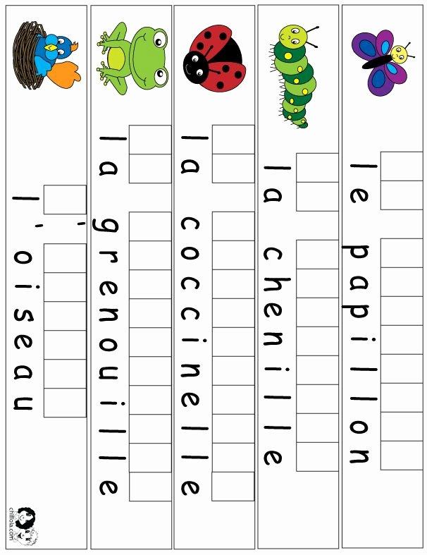 French Worksheet for Kids New 155 Best French Worksheets for Children Français