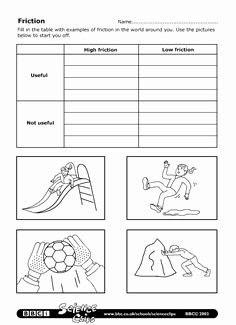 Friction and Gravity Worksheet Answers Best Of force Worksheet Gravity or Friction