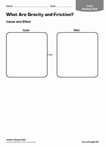 Friction and Gravity Worksheet Beautiful What are Gravity and Friction Graphic organizer for 3rd