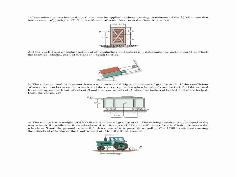 Friction and Gravity Worksheet Inspirational Friction Worksheet