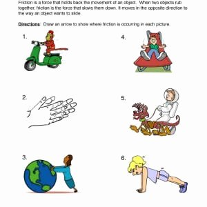 Friction and Gravity Worksheet New Energy Worksheets
