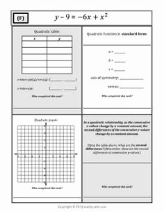 From Linear to Quadratic Worksheet Best Of Exponential Functions Algebra Worksheet