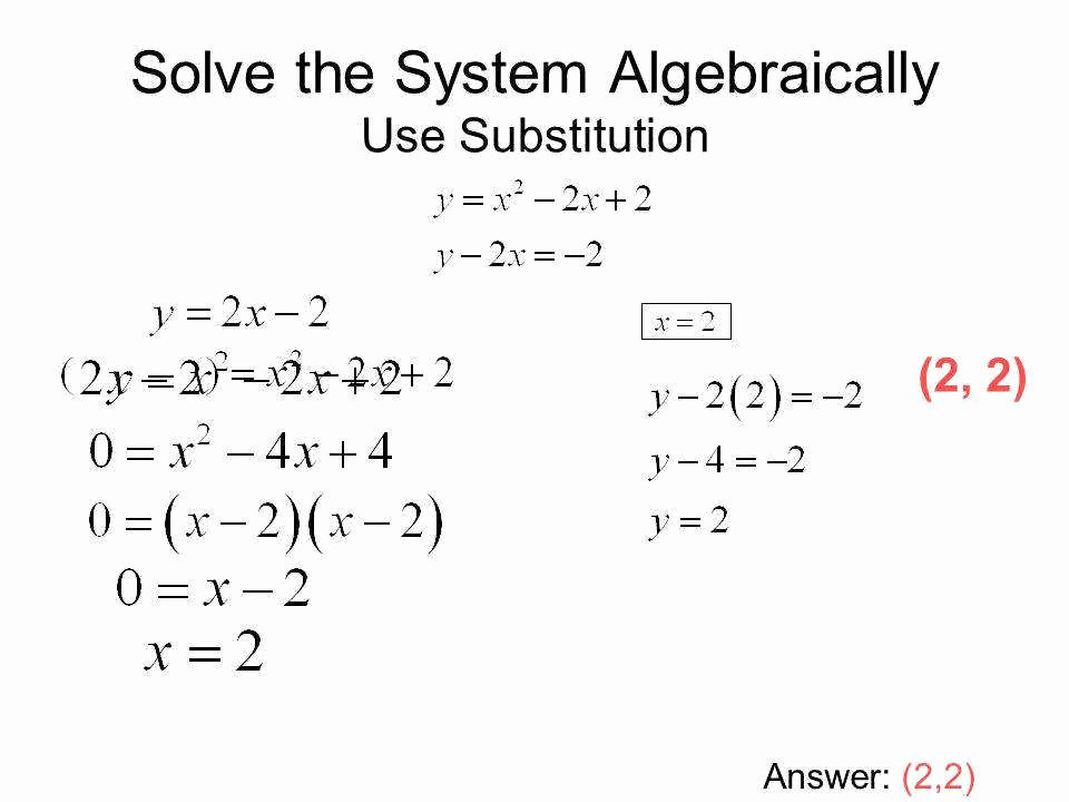 From Linear to Quadratic Worksheet Lovely Systems Linear Equations Worksheet