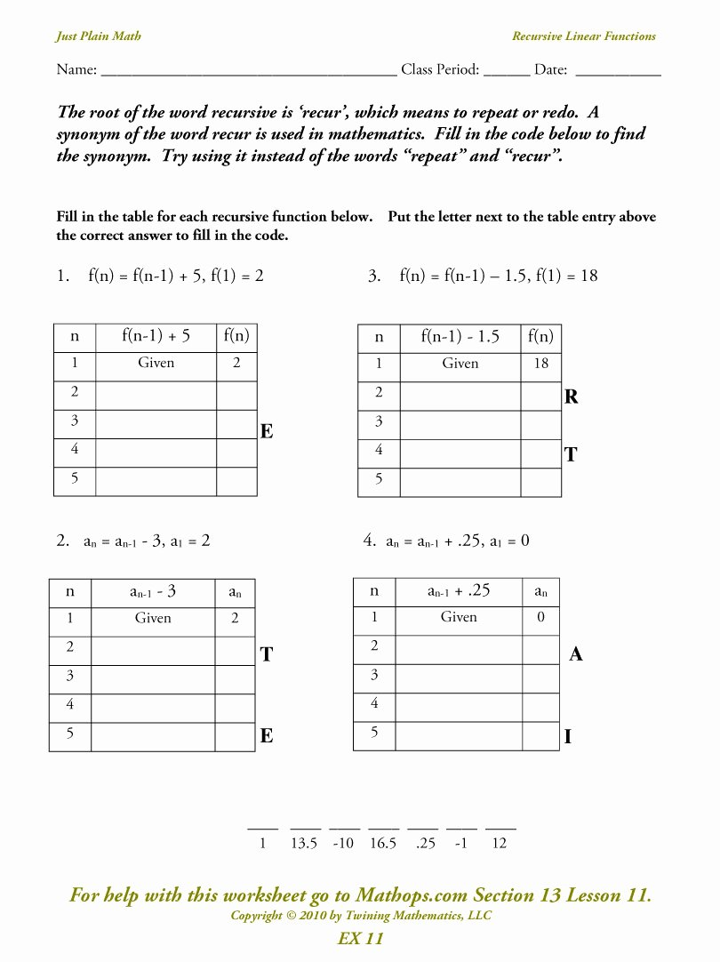 From Linear to Quadratic Worksheet New Identify Linear Quadratic and Exponential Functions From