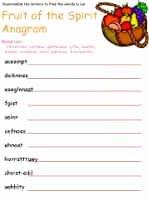 Fruits Of the Spirit Worksheet Best Of Fruit Of the Spirit On Pinterest
