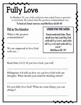 Fruits Of the Spirit Worksheet Luxury Fruit Of the Spirit Love Unit 1 Worksheets and