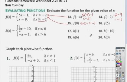 Function Operations and Composition Worksheet Inspirational 24 Algebra 3 Function Worksheet 2 Operations and