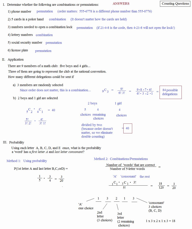 Fundamental Counting Principle Worksheet Awesome Fundamental Counting Principle Worksheet Answers