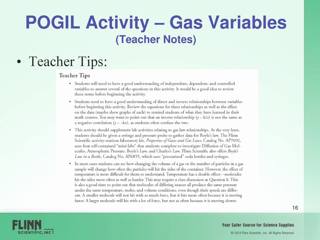 Gas Variables Worksheet Answers Lovely Amazing Wel E Flinn Scientific Enhance Your Science