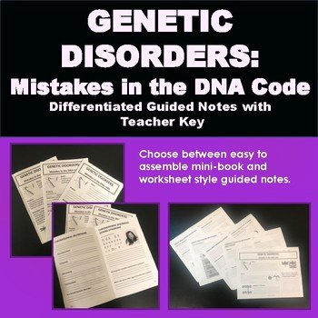 Genetic Mutation Worksheet Answer Key Best Of Genetic Disorders Mistakes In the Dna Code Dna Mutations