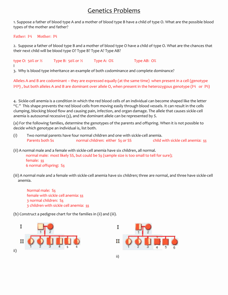 Genetics Practice Problems Worksheet Answers Awesome Amoeba Sisters Video Recap Introduction to Cells Worksheet