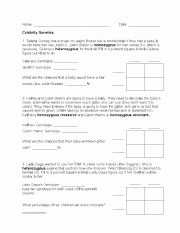 Genetics Worksheet Middle School Beautiful 19 Best Of Reading Worksheets Based Genetics