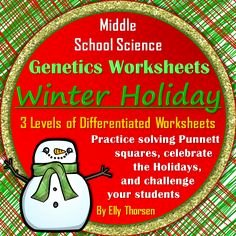 Genetics Worksheet Middle School Best Of Genotype and Phenotype Punnett Square Worksheets with