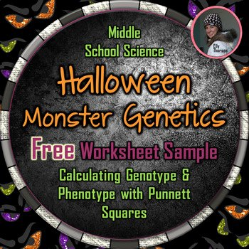 Genotypes and Phenotypes Worksheet Unique Halloween Genotype and Phenotype Punnett Square Worksheet