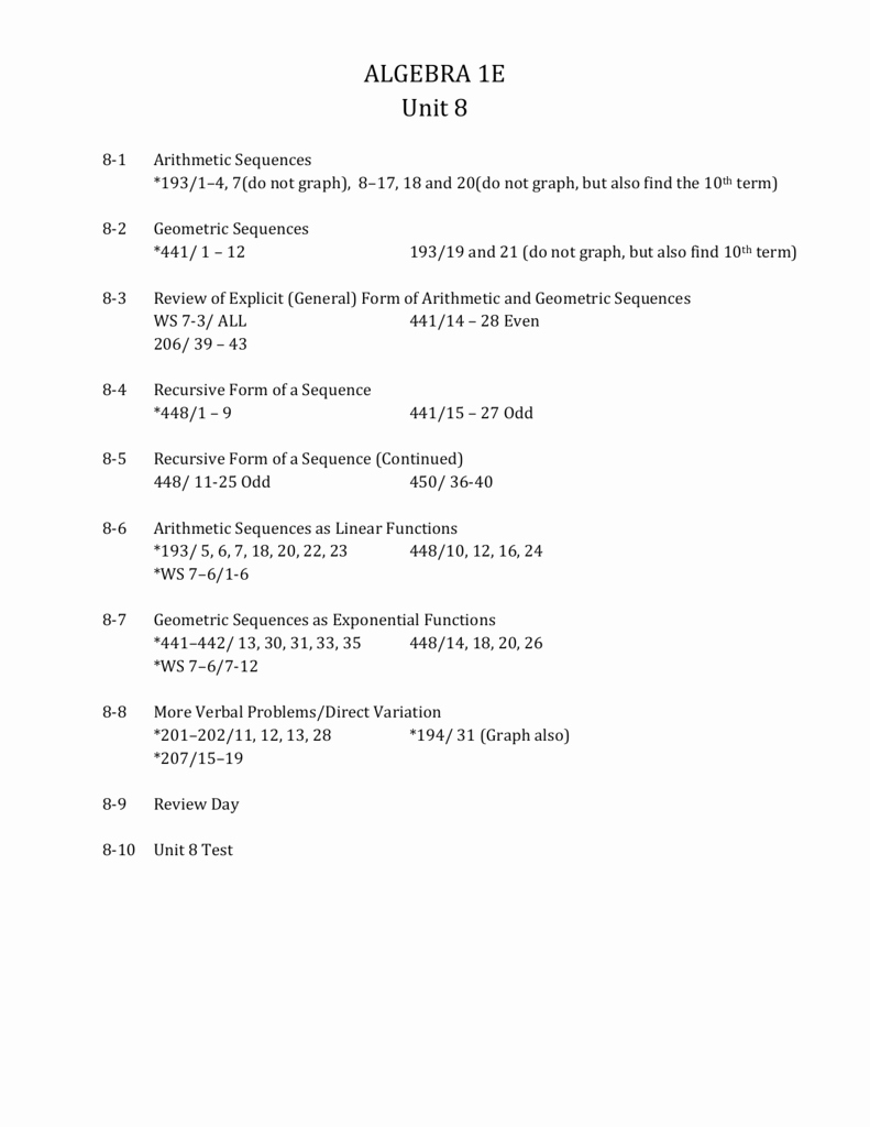 Geometric Sequence Worksheet Answers Inspirational Arithmetic and Geometric Sequences Word Problems Worksheet
