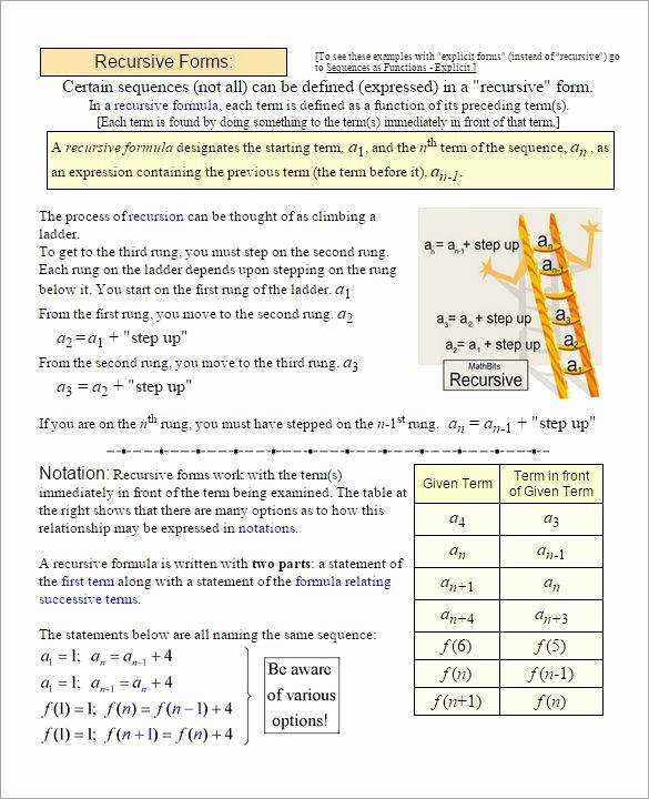 Geometric Sequence Worksheet Answers Inspirational Arithmetic and Geometric Sequences Worksheet