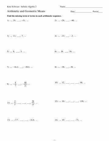 Geometric Sequences Worksheet Answers Best Of Dentrodabiblia Arithmetic Sequences Worksheet Answers