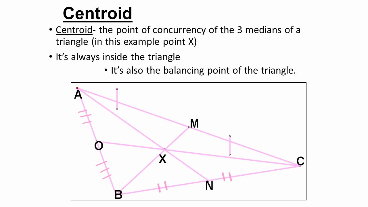 Geometry Points Of Concurrency Worksheet Unique Worksheet Medians A Triangle Worksheet Worksheet Fun