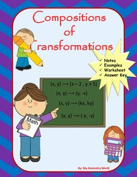 Geometry Transformation Composition Worksheet Inspirational Geometry Transformation Position Worksheet Answer Key