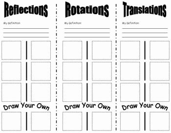 Geometry Transformations Worksheet Pdf Inspirational Best 25 Transformations Math Ideas On Pinterest