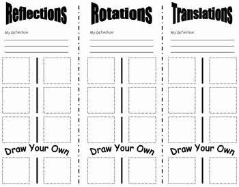 Geometry Transformations Worksheet Pdf Inspirational Best 25 Transformations Math Ideas On Pinterest