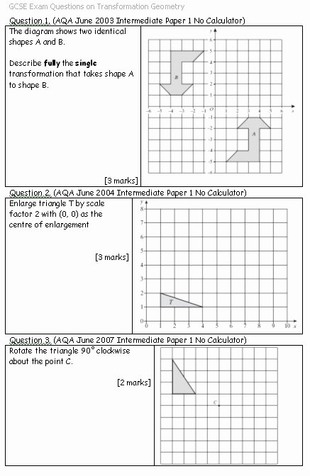 Geometry Transformations Worksheet Pdf Inspirational Transformation Geometry