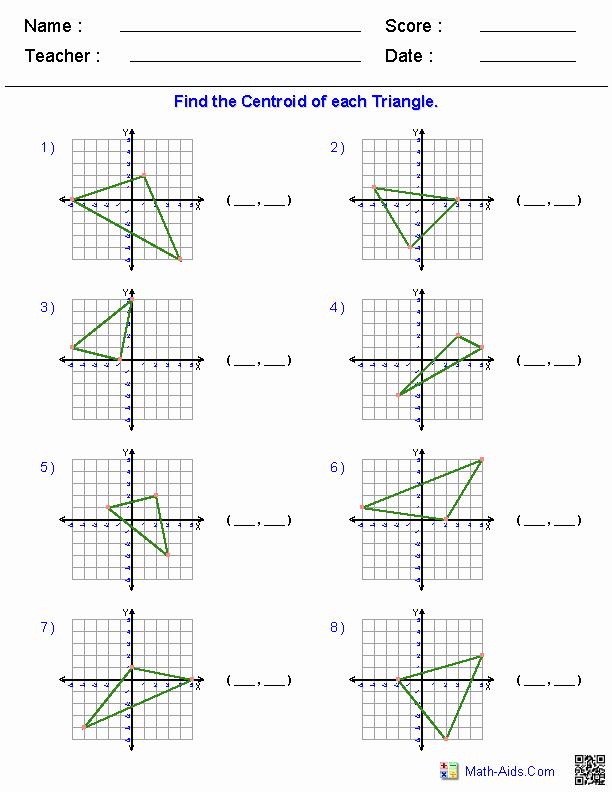 Geometry Transformations Worksheet Pdf New Geometry Worksheets