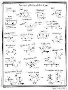 Geometry Worksheet Beginning Proofs Elegant Geometry theorem Cheat Sheet Google Search