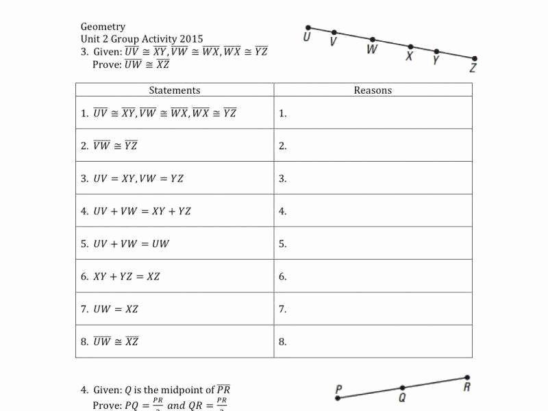 Geometry Worksheet Beginning Proofs Lovely Geometric Proofs Worksheet