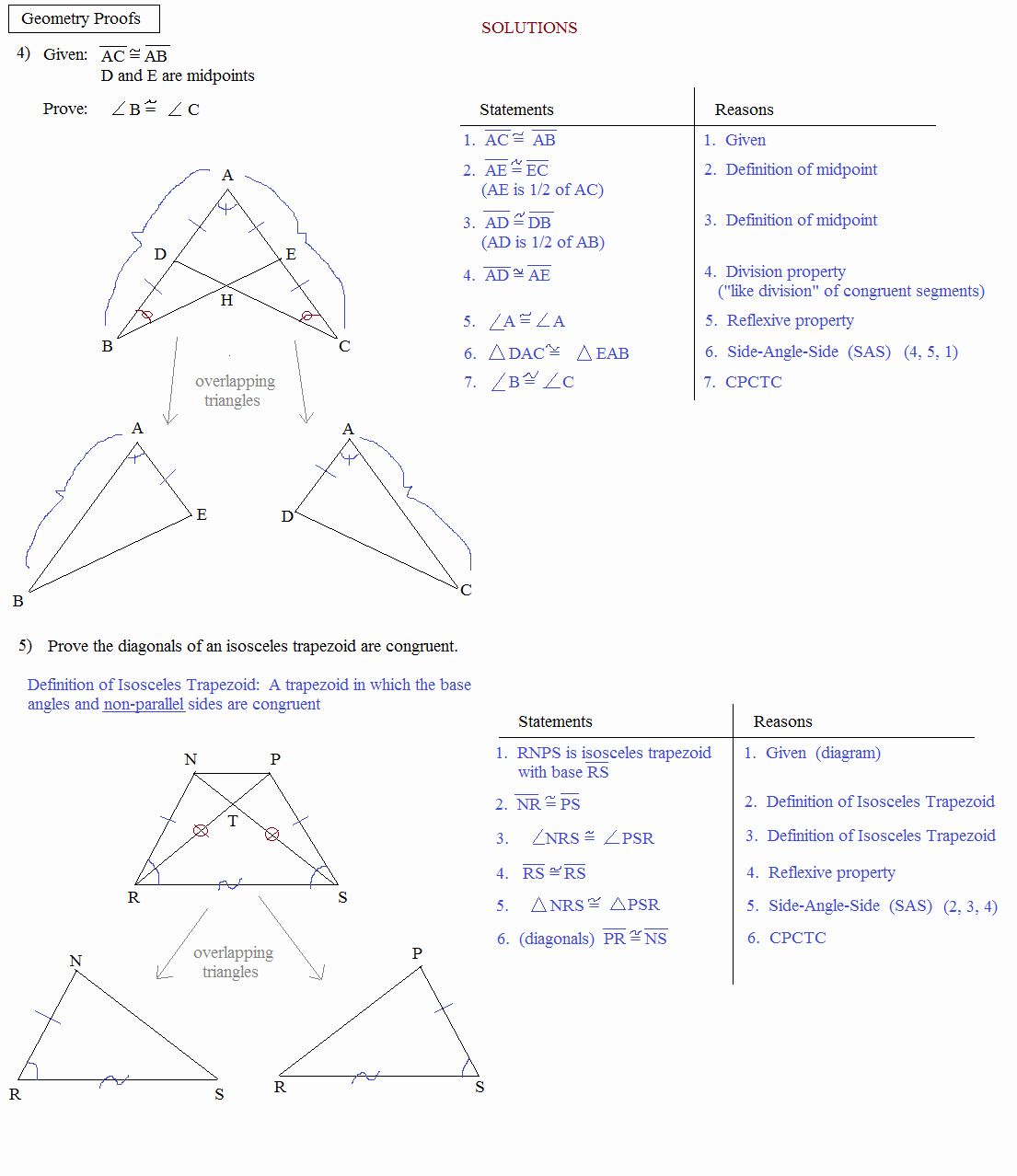 Geometry Worksheet Congruent Triangles Answers Beautiful Math Plane Proofs & Postulates 1 Worksheet