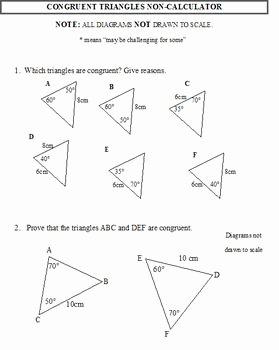 Geometry Worksheet Congruent Triangles Answers Unique 23 Best Images About Congruent Triangles On Pinterest