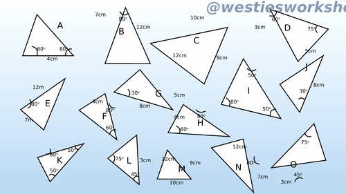 Geometry Worksheet Congruent Triangles Inspirational Congruent Triangles Matching Activity by Supergenau