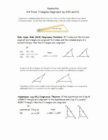 Geometry Worksheet Congruent Triangles Lovely Geometry Worksheet 4 3 Congruent Triangles Name