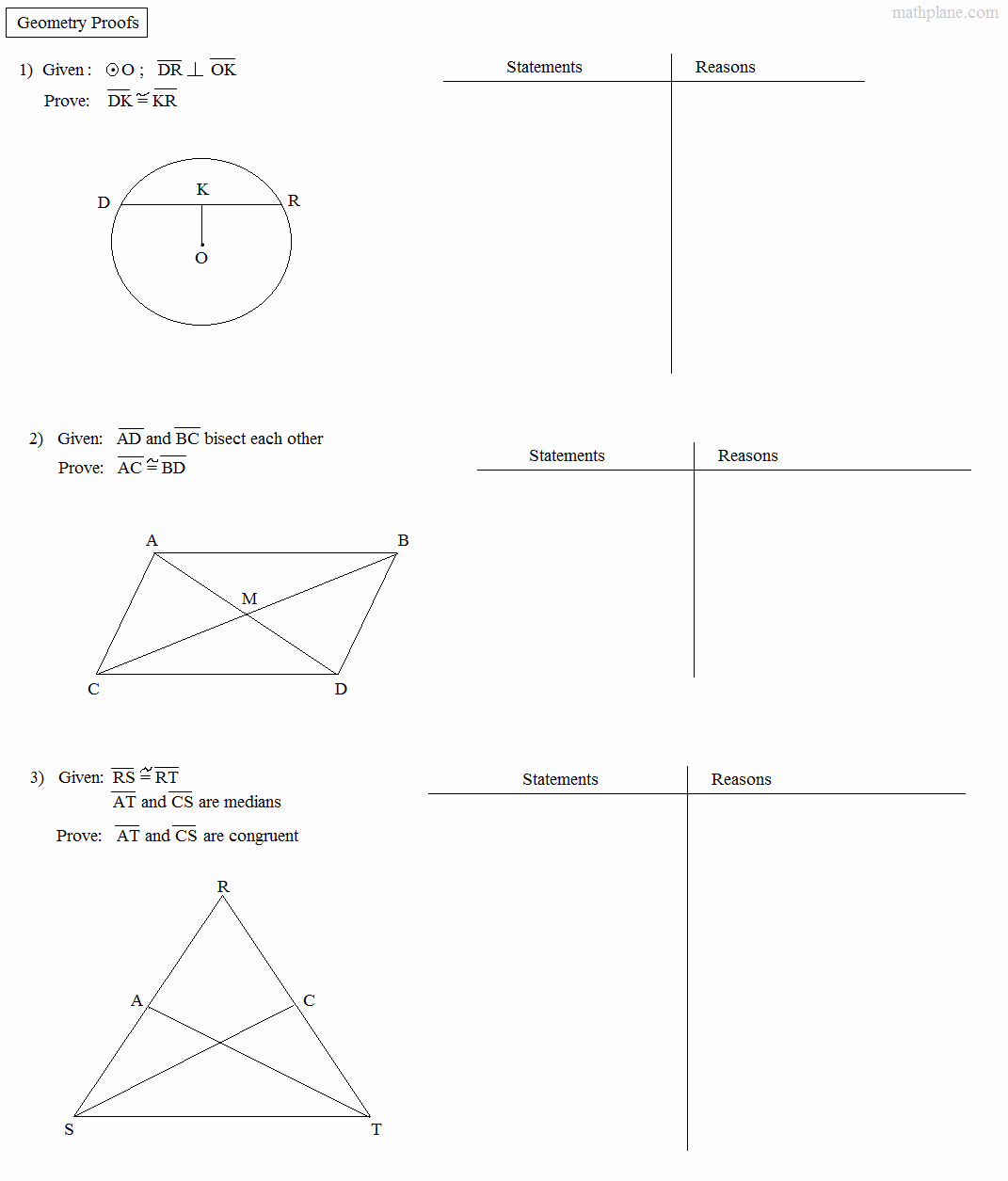 Geometry Worksheet Congruent Triangles Unique Math Plane Proofs & Postulates 1 Worksheet
