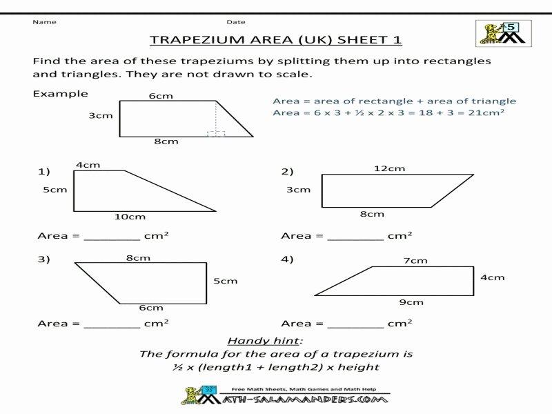 Geometry Worksheet Kites and Trapezoids Awesome Geometry Worksheet Kites and Trapezoids Answers Free