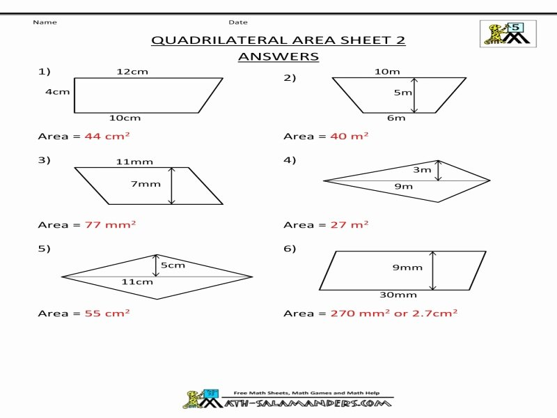 Geometry Worksheet Kites and Trapezoids Lovely Kites and Trapezoids Worksheet Answers Free Printable